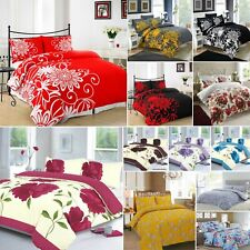 Quilt / Duvet Cover Set & Pillow Cases Single Double King Super King Bedding Set