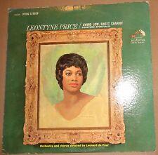 Swing low, sweet chariot: 14 spirituals: Leontyne Price; Leonard De Paur -Signed