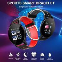 119Plus Montre Intelligente Bracelet Connectées Smart Watch Fitness Sport ME