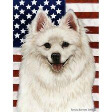 Patriotic (2) Garden Flag - American Eskimo 321261