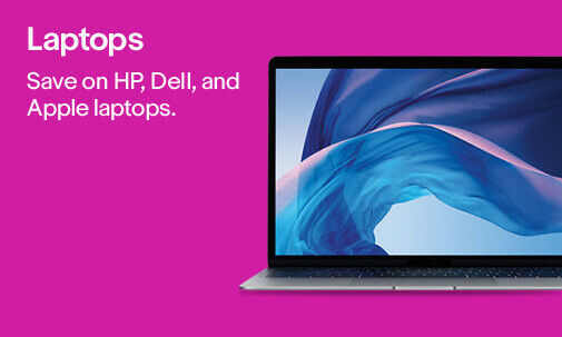 Laptops | Save on HP, Dell, and Apple laptops.