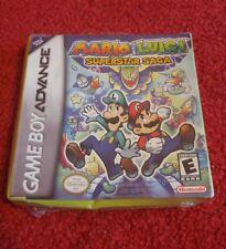 Mario & Luigi Superstar Saga   GAMEBOY ADVANCE ( BRAND NEW) * READ DESCRIPTION*