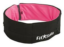 Premium Running/Fitness Belt (Pink/Black) (Medium)
