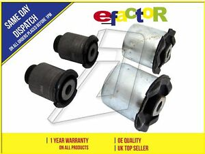 NEW FRONT REAR LEFT AND RIGHT SUSPENSION CONTROL ARM BUSHES KIT RBX500432