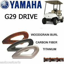 Yamaha G29 Drive Golf Cart Hip Restraints / Arm Rest Seat Rails