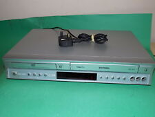 TOSHIBA DVD Player / Video Recorder VHS Combo SD-34VB Silver Working order