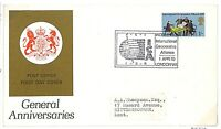 T267 1970 GB QEII FDC General Anniversaries {samwells-covers}PTS