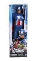 Captain America Figure Avengers Marvel Hasbro Titan Hero Series 12 Inches