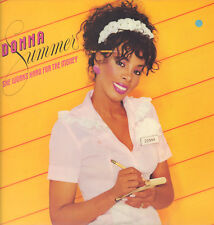 "DONNA SUMMER "" SHE WORKS HARD FOR THE MONEY "" LP  NUOVO  ITALY POLYGRAM 1983"
