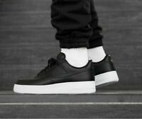 Nike Air Force 1 One Low 07 Men's Shoes Lifestyle Comfy Sneakers Black/White
