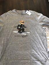 NWT Polo Ralph Lauren Ski Bear Ski Pwing Stadium 92 Sweater T-shirt Crest Sz XXL