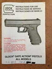 glock gun manuals for sale ebay rh ebay com Glock 23 Night Sights Glock 23 Magazine