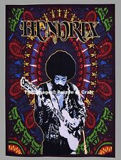 Indian Tapestry Jimi Hendrix Playing Guitar Poster Wall Hanging 30*40 Dorm Decor