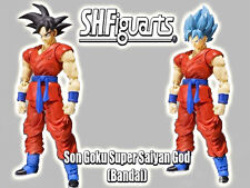 S.h.figuarts Dragon Ball F Super Saiyan God son Goku Bandai