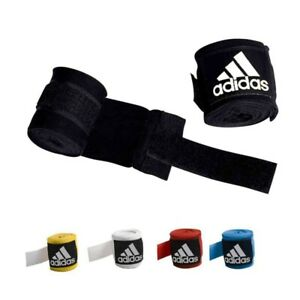 Adidas Hand Wraps with Thumb Loop 5cmx4.5cm Black/Blue/Yellow/White/Red