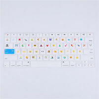 "Emoji New Silicone Keyboard Cover Skin for MacBook Air Pro Retina Mac 13 15 17"""