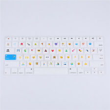 Emoji New Silicone Keyboard Cover Skin for MacBook Air Pro Retina Mac 13 15 17""