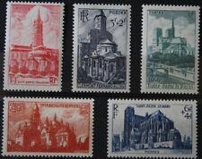 1947 FRANCE TIMBRE Y & T N° 772 à 776 Neufs * * SANS CHARNIERE