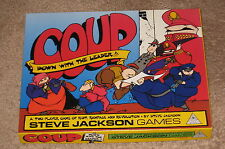 Coup - A Two Player Game of Riot, Rampage and Revolution by Steve Jackson Games