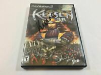 Kessen (Sony PlayStation 2, 2000) ***COMPLETE IN BOX W/ MANUAL***