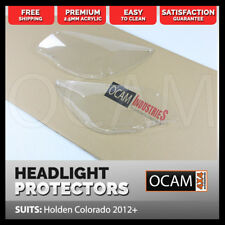 OCAM Headlight Protectors for Holden Colorado RG & 7 2012-16 Headlamp Covers