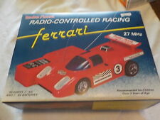 Radio Shack Ferrari Radio Controlled Racing 27MHz in Box Cat no 60-3015