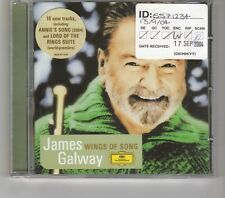(HK404) James Galway, Wings Of Song - 2004 CD