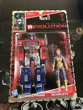 Revolution #1 2016 Riches Action Figure Variant Cover Transformers G.I. Joe IDW