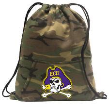 East Carolina Cinch Pack Backpack COOL CAMO ECU Bags FOR SCHOOL OR TRAVEL!