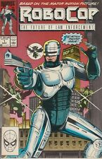 Robocop #1 Vol. 1 Comic Marvel Comics 1990