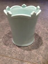 Light Blue (Turquoise) Glazed China Miniature Pot