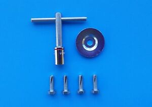 Parts American B/2 Floor Sander Edger Sand Paper Bolts, Washer Wrench Key Clarke