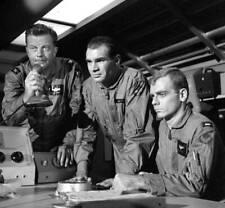 OLD CBS TV RADIO PHOTO Men Into Space TV show William Lundigan & John Milford 5
