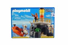 Playmobil City Action Lighthouse & Boat Rescue Set - 37 Pieces