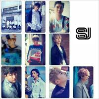 Super Junior Photo Stikcy Card Time_Slip Crystal Card Sticker Photocard Sticker