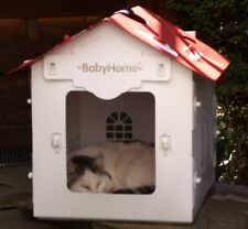 Katzenhaus Katzenhöhle Hundehaus Hundehütte Tierhaus Haustier Box Transportbox