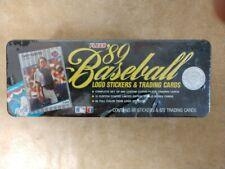 1989 Fleer Glossy Baseball Factory-Sealed Complete Tin Set (w Ken Griffey Jr RC)