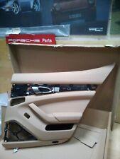 Porsche Panamera Rear Door Card Beige Leather RRP £1680 - New