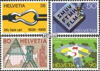 Schweiz 1376-1379 (kompl.Ausgabe) postfrisch 1988 Jahresereignisse