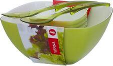 Salatschalen Set Emsa Salatbesteck Schale Salat Besteck Salatschüssel 6 Tlg Grün