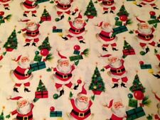 Fat Quarter, 100% cotton quilting fabric, Santa Fabric, Christmas
