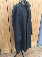 Men's GREY Winter BURBERRY PROSUM Tweed Wool NOVA PLAID Overcoat Jacket 42-46