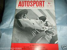 Cooper Formule détails 1 in (environ 2.54 cm) 1962 + Nurburgring 500 km FIAT ABARTH Eberhard MAHLE