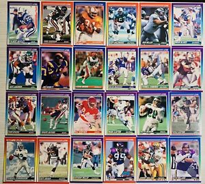 🔥(25) 1990 Score NFL CARDS🔥
