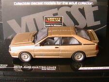 AUDI QUATTRO COUPE GOBI METALLIC 1981 VITESSE 20779 1/43 LIMITED EDITION 668 PCS