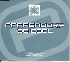 PAFFENDORF Be Cool MIXES & VIDEO CD Single Ministry of Sound SEALED