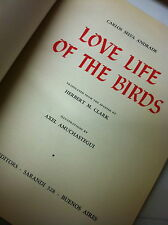 BOOK: LOVE LIFE OF THE BIRDS 1952 ARGENTINA
