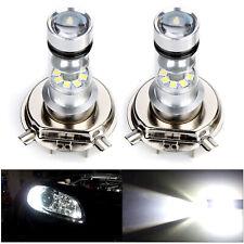 2x H4 Xenon Led White Bulb 100W 20SMD 6000K  Super Bright Fog Headlight