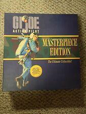 1996 GI JOE MASTERPIECE EDITION Action Pilot Blonde Hair NRFB Hasbro NEW Vol IV