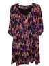 Lane Bryant Womens Size 18/20 Colorful Long Sleeve Round Neck Knee Length Dress